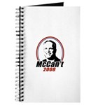 McCan't 2008 Journal