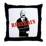 Restrain McCain Throw Pillow