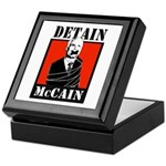DETAIN MCCAIN Keepsake Box