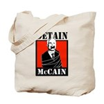 DETAIN MCCAIN Tote Bag