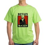 DETAIN MCCAIN Green T-Shirt