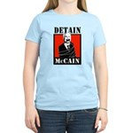 DETAIN MCCAIN Women's Light T-Shirt