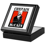Contain McCain Keepsake Box