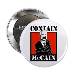 "Contain McCain 2.25"" Button (10 pack)"