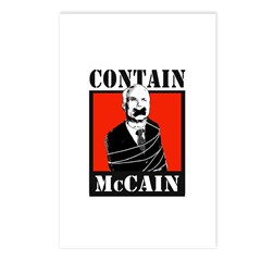 Contain McCain Postcards (Package of 8)