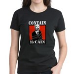 Contain McCain Women's Dark T-Shirt