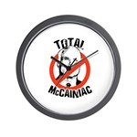 Anti-McCain: McCainiac Wall Clock