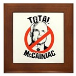 Anti-McCain: McCainiac Framed Tile