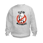 Anti-McCain: McCainiac Kids Sweatshirt
