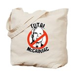 Anti-McCain: McCainiac Tote Bag