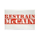 RESTRAIN MCCAIN Rectangle Magnet (100 pack)