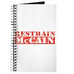 RESTRAIN MCCAIN Journal