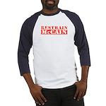 RESTRAIN MCCAIN Baseball Jersey
