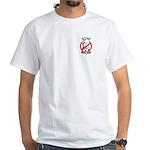 STOP MCCAIN White T-Shirt