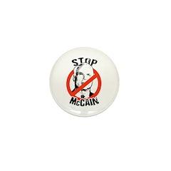 STOP MCCAIN Mini Button (10 pack)