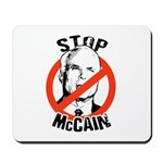 STOP MCCAIN Mousepad