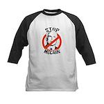 STOP MCCAIN Kids Baseball Jersey