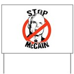 STOP MCCAIN Yard Sign