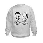 Vote Black. Not Mac. Kids Sweatshirt
