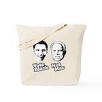 Vote Black. Not Mac. Tote Bag
