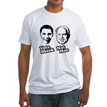 Vote Black. Not Mac. Fitted T-Shirt
