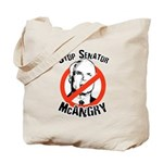 Anti-McCain: Stop Senator McAngry Tote Bag
