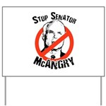 Anti-McCain: Stop Senator McAngry Yard Sign