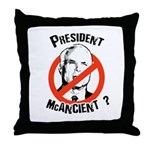 President McAncient ? Throw Pillow