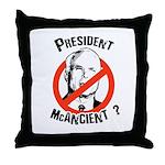President McAncient ? Throw Pillow