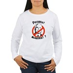 President McAncient ? Women's Long Sleeve T-Shirt
