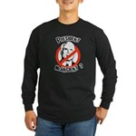 President McAncient ? Long Sleeve Dark T-Shirt