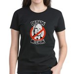 Anti-McCain: Detain McCain Women's Dark T-Shirt