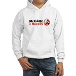 McCain is McNuts Hooded Sweatshirt