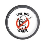 Anti-McCain: Take Mac Back Wall Clock