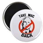 Anti-McCain: Take Mac Back Magnet
