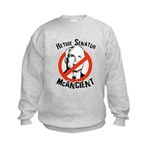 Retire Senator McAncient Kids Sweatshirt