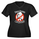 Retire Senator McAncient Women's Plus Size V-Neck