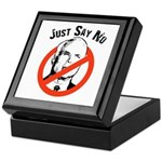 Anti-McCain: Just say no Keepsake Box