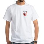 Anti-McCain: Just say no White T-Shirt