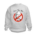 Anti-McCain: Just say no Kids Sweatshirt