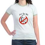Anti-McCain: Just say no Jr. Ringer T-Shirt