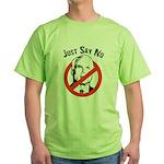 Anti-McCain: Just say no Green T-Shirt