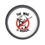 Anti-McCain: The Mac is whack Wall Clock