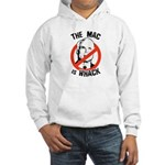 Anti-McCain: The Mac is whack Hooded Sweatshirt