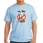 Anti-McCain: The Mac is whack Light T-Shirt