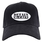 DETAIN MCCAIN Black Cap
