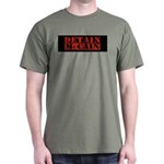 DETAIN MCCAIN Dark T-Shirt