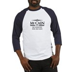 McCain 2008: No Country for old men Baseball Jerse