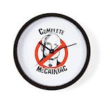 Anti-McCain: Complete McCainiac Wall Clock
