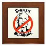 Anti-McCain: Complete McCainiac Framed Tile
